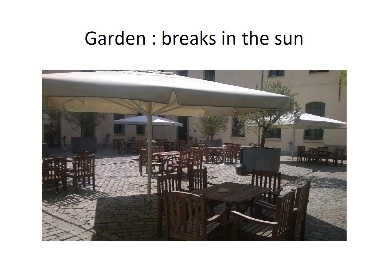 Garden adj. lecture room
